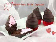 Mini Gluten Free Hi-Hat Cupcakes from The Baking Beauties