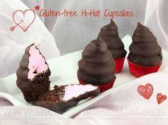 Mini Gluten-Free Hi-Hat Cupcakes from Faithfully Gluten Free