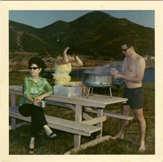 Friday 13th, 1963: if Sharla had to hear one more boring story about Ted's new Mini-BBQ, she was going to run him through with the tongs.