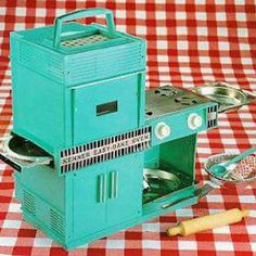 Spend hours cooking cakes with this. The Easy Bake Oven.