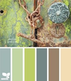 One of my favorite sources for color inspiration is Design Seeds . Jessica loves color and dreams up and creates these amazing color schemes.