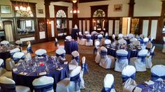 Indoor Wedding/Reception Venue - Billiard Room at The Stanley Hotel Indoor Wedding Receptions, Wedding Reception Venues, Hotel Wedding, Wedding Locations, Wedding Decorations, Wedding Ideas, Table Decorations, The Stanley Hotel, Billiard Room