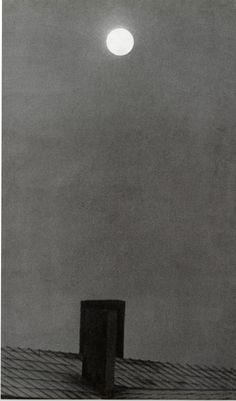 Kicken Berlin, Otto Steinert, Mond überm Dach, 1949