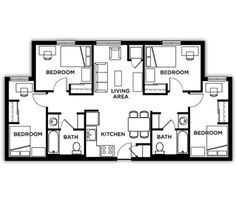 Student Housing Floor Plans - CSI Student Housing