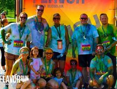 What a great shot! We love groups of Flavor Runners! Running may be an individual sport to some of us but there is no reason you can't enjoy the event together! #flavorrun #flavorfamily #squad #turnout #5k