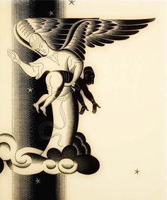 illustration from 'Poor Shaydullah' by Boris Artzybasheff (1931)