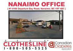 Help us fill our #Nanaimo Clothesline Clothing Donation Centre by dropping off your #usedclothing to our location! show your support to the #diabetes community!