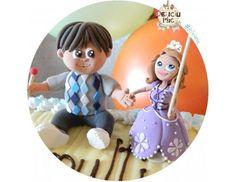 Figurina de tort Botez Detalii si pret: - http://ift.tt/1ipRjKg -