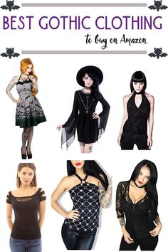 I get a lot of questions for where I shop for my wardrobe. I've found some of the best gothic clothing on Amazon over the past few years. They carry more sizes than your average mall, too, making it easier to find in between and plus size clothing.