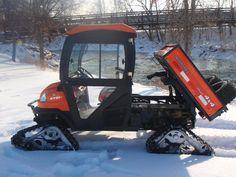 """EXTREME"" off road Kubota RTV 1100 Audi Tt Sport, Garden Tractor Pulling, Snow Vehicles, Landscaping Equipment, Kubota Tractors, Compact Tractors, Snow Plow, Go Kart, Eccentric"