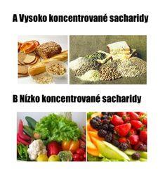 sacharidy, vysoko a nízko koncentrované, vlado zlatoš