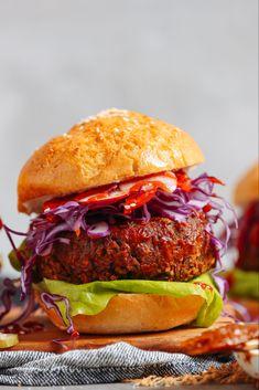 Salmon terrine with vegetables - Healthy Food Mom Black Bean Veggie Burger, Black Bean Burgers, Veggie Burgers, Meatless Burgers, Falafel, Baker Recipes, Vegan Recipes, Tufu Recipes, Meatless Recipes