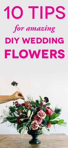 DIY wedding flowers? It's totally possible with these tips.