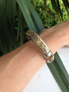 Cheetah Bangle From Birdhouse