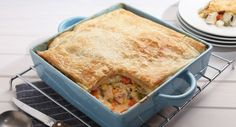 Adding Mixed Vegetables helps to turn this pie into a complete meal.