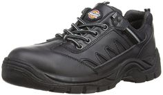 Dickies Men's Leather Stockton Safety Shoes * You can get additional details at the image link.