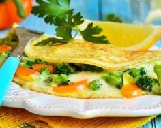 Omelette brocoli et carotte à l'emmental léger : http://www.fourchette-et-bikini.fr/recettes/recettes-minceur/omelette-brocoli-et-carotte-a-lemmental-leger.html