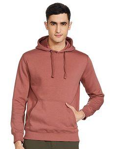 Buy Amazon Brand - Symbol Men's Sweatshirt (AW18MNSSW02D_Copper Brown_Large) at Amazon.in