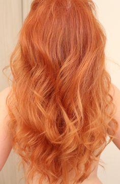 Dica para Ruivas: Como pintar o cabelo em casa - Nova coloração com tom cobre da…
