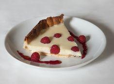 Tarta de chocolate blanco con frambuesaspara #Mycookhttp://www.mycook.es/receta/tarta-de-chocolate-blanco-con-frambuesas/