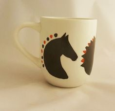 Dressage Horse Cup