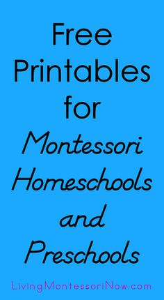 Places to find free printables for Montessori homeschools, preschools, and co-ops along with ways to use printables to create Montessori-inspired activities. Montessori Practical Life, Montessori Homeschool, Montessori Classroom, Montessori Toddler, Preschool Curriculum, Preschool Printables, Montessori Activities, Preschool Lessons, Preschool Learning