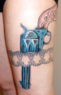 Funny+Gun+Tattoos+Designs+