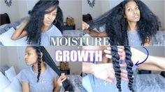 EXTREME Moisture + Growth Routine on Natural Hair (Updated) [Video] - https://blackhairinformation.com/video-gallery/extreme-moisture-growth-routine-natural-hair-updated-video/