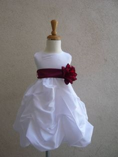 Ebay $24 Infant flower girl dress.  For Ella?