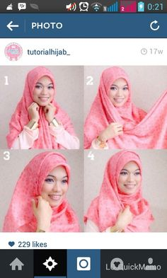 Piinkk #hijabtutorial