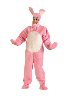 Easter Bunny Suit Pink Costum