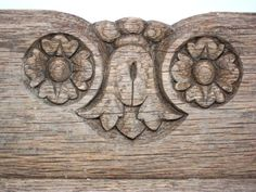 Vintage Architectural Salvage Distressed Wood Trim by hensfeathers, $57.00
