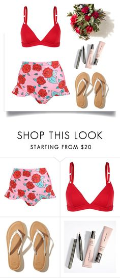 """""""Red Roses"""" by xmissnthingx ❤ liked on Polyvore featuring LoveStories, Hollister Co. and Vichy"""