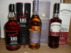 3 Flaschen Single Malt Whisky  :  Glenfarclas 105 / Glenmorangie / Bowmore 9 Single Malt Whisky, Scotch Whisky, Whiskey Bottle, Ebay, Drinks, Flasks, Germany, Drinking, Beverages