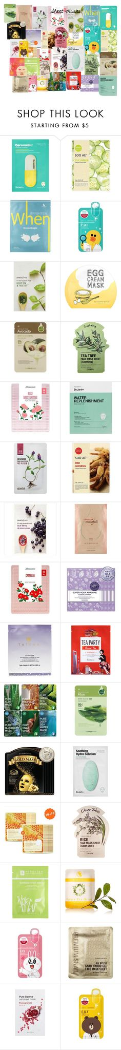 """""""Untitled #115"""" by emmierose1995 ❤ liked on Polyvore featuring beauty, Soo Ae, When, Innisfree, too cool for school, The Face Shop, Tony Moly, Mamonde, Goodal and Etude House"""