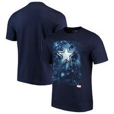 online retailer 32f79 4b378 NFL Dallas Cowboys Marvel Onslaught T-Shirt Marvel, Nfl Dallas Cowboys, Navy ,
