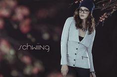 SARAH - LIGHT GREY www.schwiing.net Grey, Coat, My Style, Jackets, Fashion, Fall Winter 2014, Jacket, Gray, Down Jackets