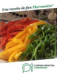 Compotée de poivrons par Jolynoise. Une recette de fan à retrouver dans la catégorie Sauces, dips et pâtes à tartiner sur www.espace-recettes.fr, de Thermomix®.