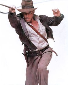Indiana Jones Promo -- Close-Up for Costume Details