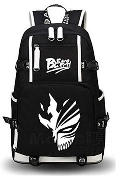 d7f58e5b82e4 Buy YOYOSHome Luminous Anime Bleach Cosplay Bookbag College Bag Backpack  School Bag online