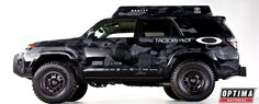 The OPTIMA-equipped Oakley Ultimate Dream Ski Toyota 4Runner will debut at the 2013 SEMA Show