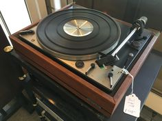 The Dual 1229 turntable.  A classic, and possibly the finest record changer ever made.