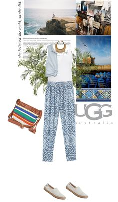 """""""Meet Me in Marrakech with UGG Australia"""" by anthy ❤ liked on Polyvore"""