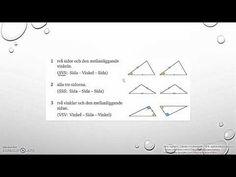 Matematik 5000 2bc VUX   Kapitel 3 - Geometri - Likformighet - Kongruens... Geometri