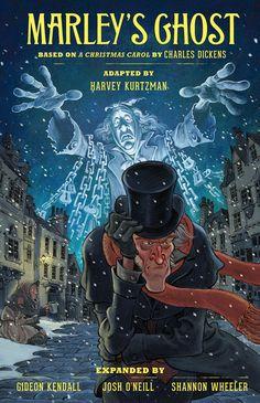 Harvey Kurtzman's Marley's Ghost (comiXology Originals): Based on A Christmas Carol by Charles Dickens - Comics by comiXology Christmas Carol Film, Christmas Cover, Christmas Holiday, Xmas, Free Comics, Scary Movies, Comic Covers, Cartoon Drawings, Humor