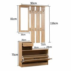 Hallway Furniture Set Features This item comprises of two parts. Shoe Storage Cabinet, Entryway Storage, Cabinet Decor, Home Entrance Decor, Entryway Decor, Diy Room Decor, Living Room Partition Design, Room Partition Designs, Hallway Furniture