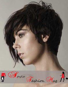 Short-Dark-Thick-Asymmetrical-Pixie-Hairstyle.jpg (450×573)