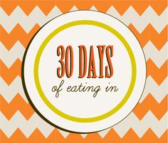30 Days of Eating In: Week Two  Gluten free meal ideas