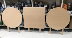 MDF tables before rust effect - Rust IT Rust, Dining Chairs, Tables, Furniture, Home Decor, Mesas, Decoration Home, Room Decor, Dining Chair