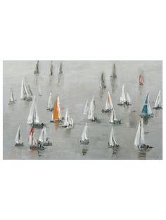 Sea of Grey Canvas Giclee